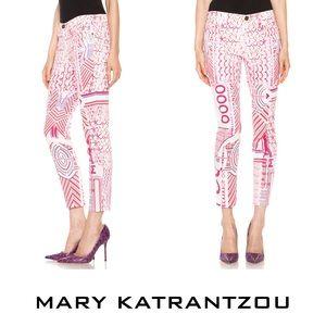 MARY KATRANTZOU Alias Jeans (Size 25)